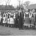 Delegacja Łemków przybyła na uroczystości święta 3 Maja w Gorlicach,  3 maja 1933 r., fot. Narodowe Archiwum Cyfrowe